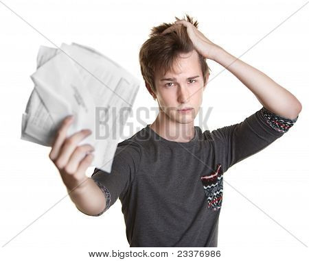 Student With Bills