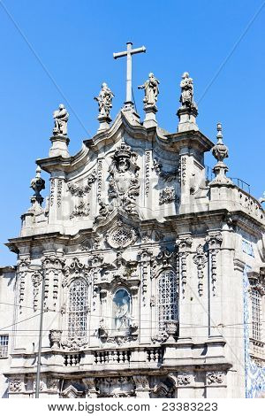 Carmo Church (Igreja do Carmo), Porto, Douro Province, Portugal