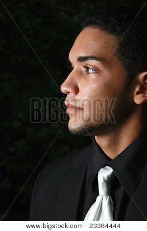 A Young Hispanic Male