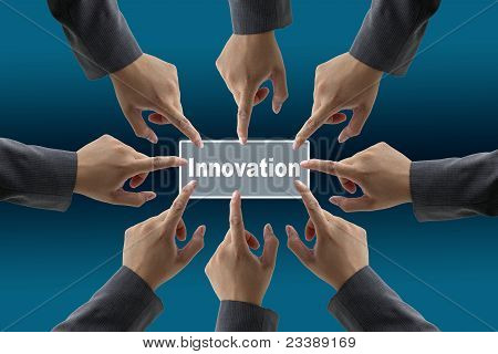 Diverse Business Innovation Team