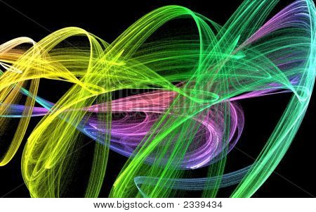 Beautiful Swirling Colours
