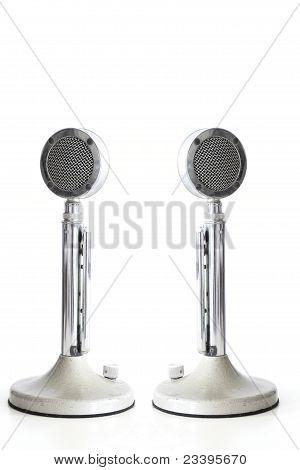Retro Mikrofone