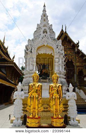 Two Buddha Lanna Style