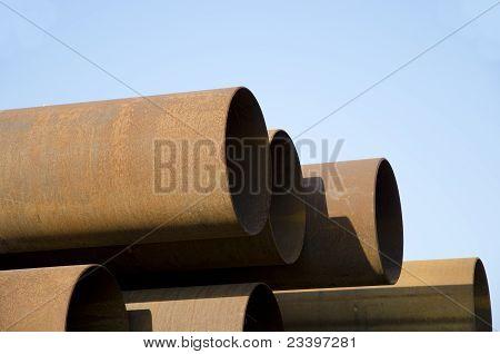 Stahl-Leitung