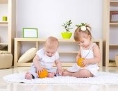 pic of lounge room  - Toddlers Playing at home - JPG