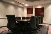 pic of convocation  - high quality picture of a corporate boardroom at a head office - JPG