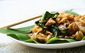 picture of rice noodles  - A Pad Se - JPG