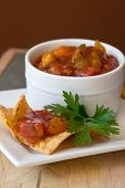 pic of chipotle  - Peach Mango Salsa with chipotle Chips  - JPG