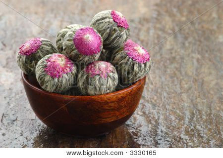 Flowering Tea Rosettes