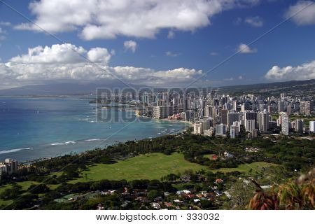 Honolulu, Hawaii-skyline