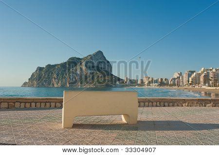 Calpe Beach Promenade