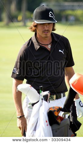 PONTE VEDRA BEACH, FL-MAY 08: Ricky Fowler at The Players Championship, PGA Tour, on practice day May 08, 2012 at The TPC Sawgrass, Ponte Vedra Beach, Florida, USA.