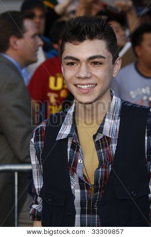 LOS ANGELES - JAN 23: Adam Irigoyen at the premiere of 'Gnomeo & Juliet'  on January 23, 2011 in Los Angeles, California
