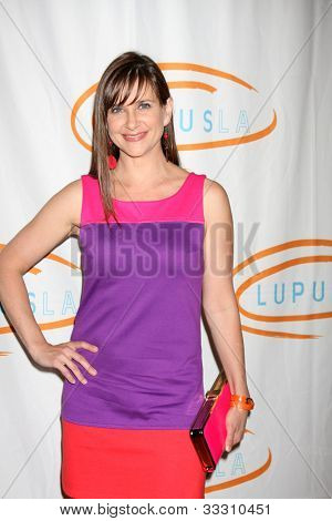 LOS ANGELES - MAY 24:  Kellie Martin arrives at the 12th Annual Lupus LA Orange Ball at Beverly Wilshire Hotel on May 24, 2012 in Beverly Hllls, CA