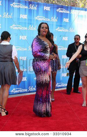 LOS ANGELES - MAY 23:  Fantasia Barrino arrives at the