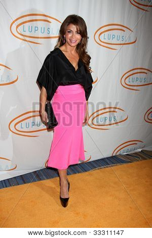 LOS ANGELES - MAY 24:  Paula Abdul arrives at the 12th Annual Lupus LA Orange Ball at Beverly Wilshire Hotel on May 24, 2012 in Beverly Hllls, CA