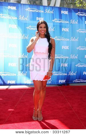 LOS ANGELES - MAY 23:  Jordin Sparks arrives at the