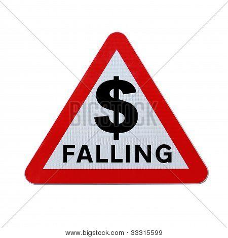 Dollar fallen