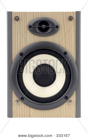 hi-Fi Lautsprecher isoliert