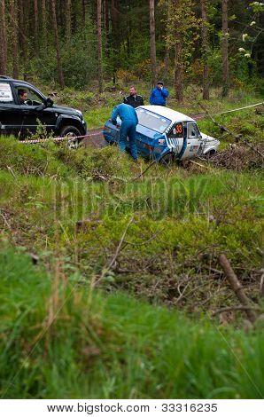 S. Benskin off-Road auf Ford escort
