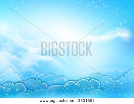 Blue Sky Heart