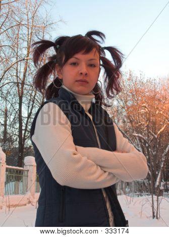 The Girl In Winter Street