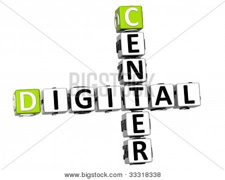 3D Center Digital Crossword