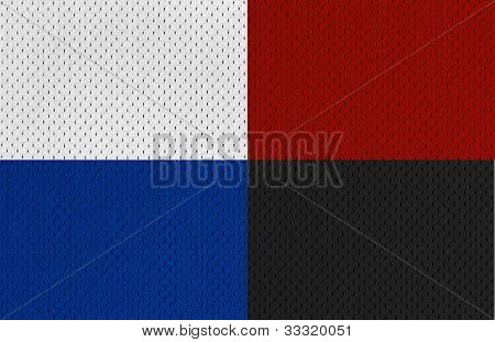 Colorful Sports Jersey textures XXL