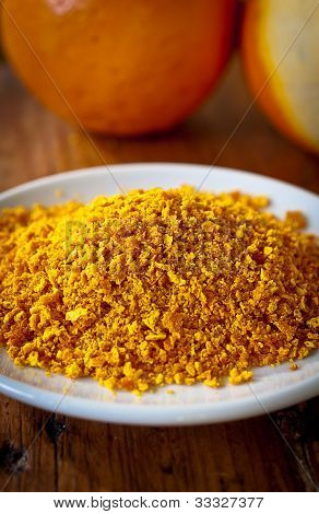 Grated Orange Rind