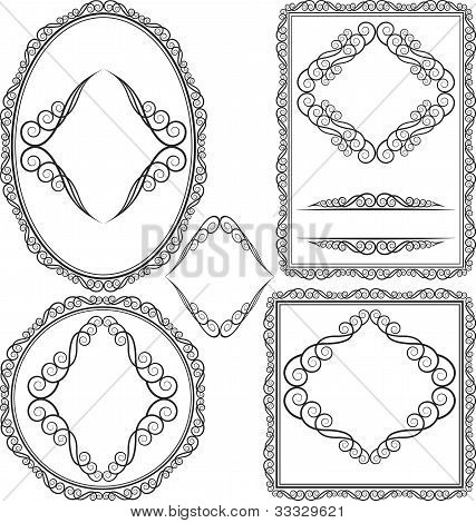 Frames - Square, Oval, Rectangular, Circular