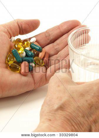 Medication, Closeup, Isolated
