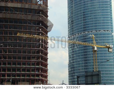 Under Construction And Constructed Skyscrapers