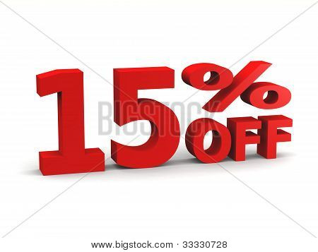 15 % Nachlass