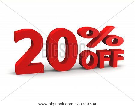 Twenty Percent Off