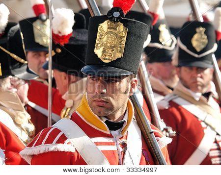 historic british soldier