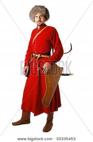 Coleccionismo en traje de Guerrero de tártaro.
