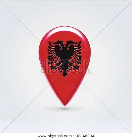 Geo Location  European National Point Label