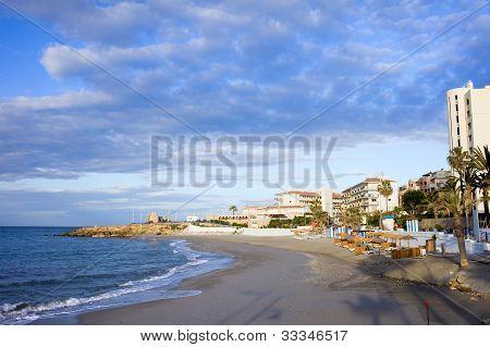 Nerja Beach On Costa Del Sol
