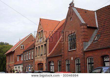 Street in Friedrichstadt