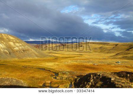 Patagonia landscape in Argentina