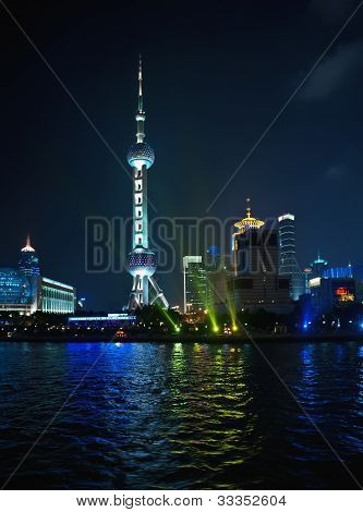 Pudong Skyline Shanghai, Pearl Tower