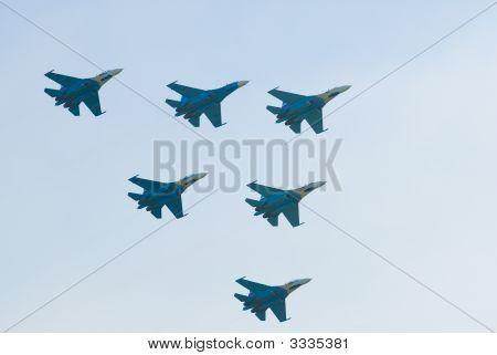 Su-27 Airplanes