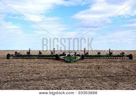 Farm Machinery On The Prairies