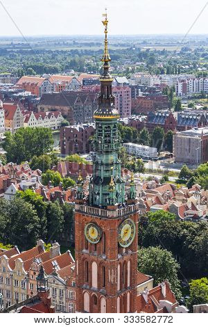 poster of Clock Tower Of Gdansk Town Hall