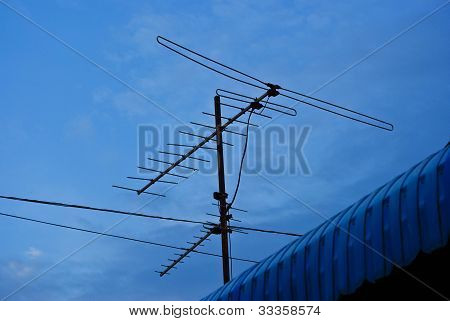 Tv Antenna Communication Industry