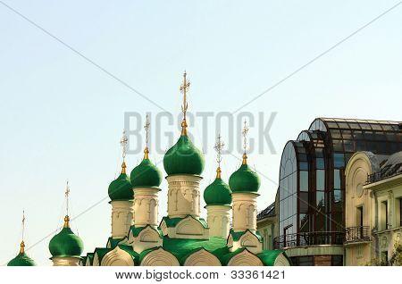 Green Churches Domes