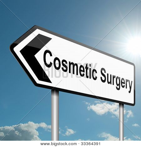 Cosmetic Surgery Concept.