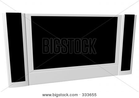 Wide Screen Tv Set 02