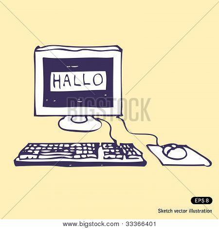 Computer Says Hallo