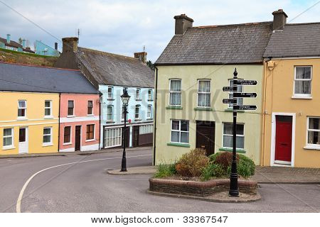 Village In West Cork, Ireland